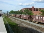 CSX 773,400 J031 and Herzog ballast cars